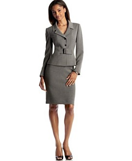 Skirt or Pant suits are acceptable for women